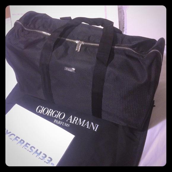 90abd234bb17 Giorgio Armani Weekend Duffle Bag tote
